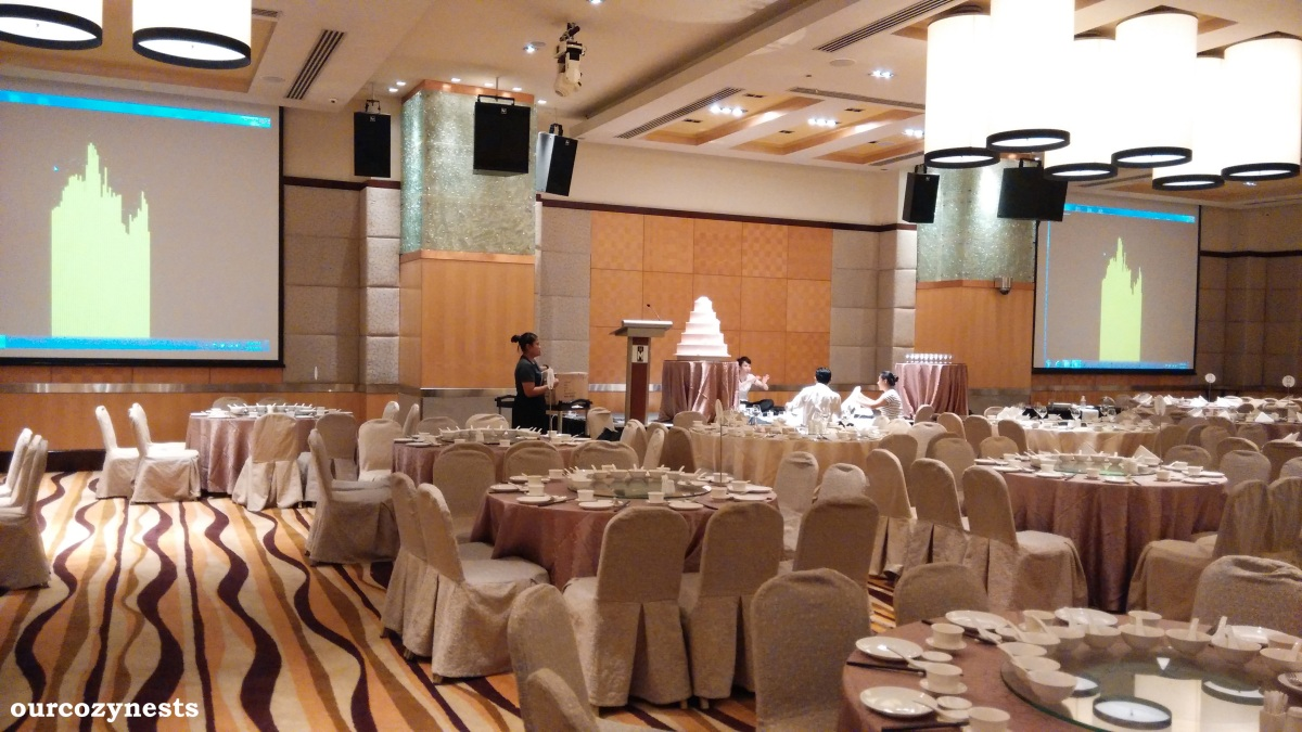 M hotel singapore wedding banquet review ourcozynests for W hotel in room dining menu singapore