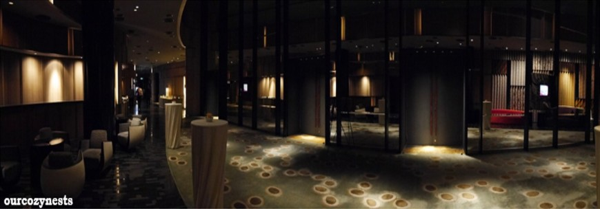 Panorama View of the Cocktail Reception Area